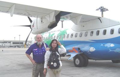 Bangkok Air ATR 72 plane