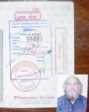 Laos visa