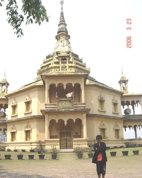 Wat Pha Phon peace pagoda
