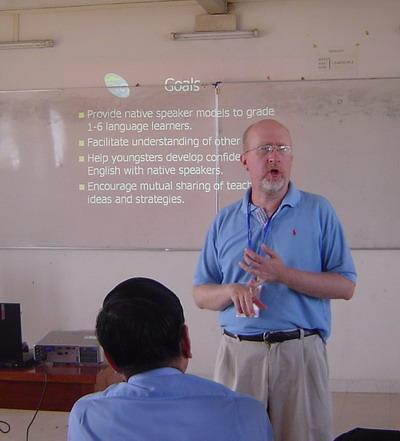 Fulbright Taiwan speaker