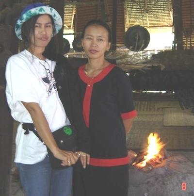 Ann in Bidayuh House