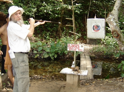 dave shooting blowpipe