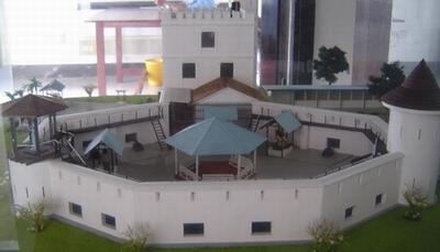 Model of Fort Margherita