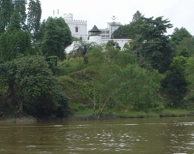 Fort Margherita from the river