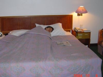 Ann in bed