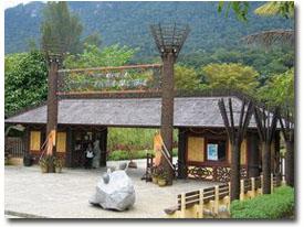 sarawak cultural village entrance