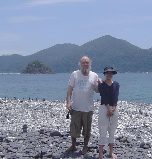 Dave and Ann on Ko Hin Ngam