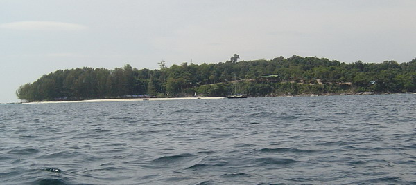 looking back at Lipe and the Mountain Resort