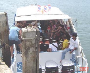 the speedboat to Lipe