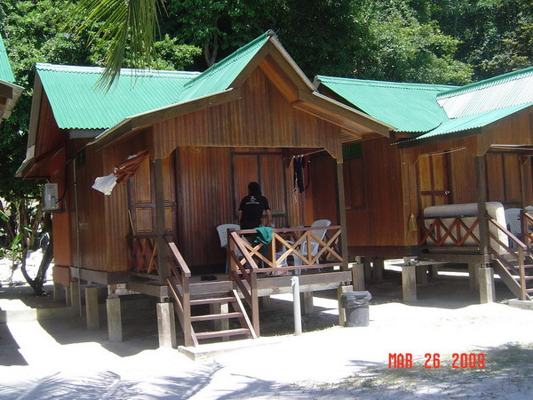our bungalow at abdul's