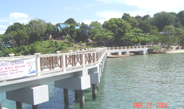 Coral Bay jetty