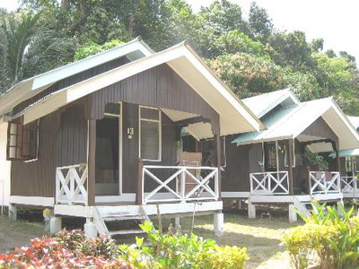 the beach bungalow at Mama's