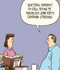 Star cartoon, stupid about PR