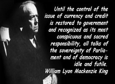 mackenzie king on money and sovereignty ...