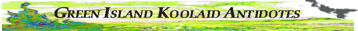 Green Island koolaid antidote header graphic